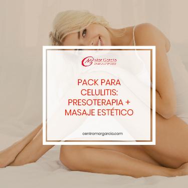 Pack celulitis Presoterapia Masaje Estetico Madrid Mar Garcia Estetica Avanzada